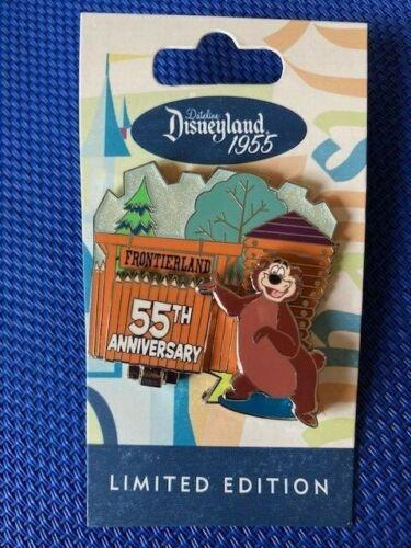 Disney Dateline Disneyland 1955 Dedication  Frontierland Humphrey The Bear Pin