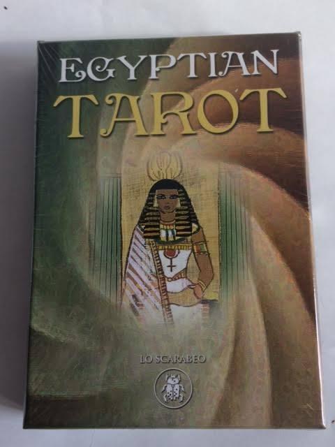 EGYPTIAN TAROT CARDS INSPIRATIONAL SPIRITUAL WISDOM GAME BY SILVANA Cat ResQ