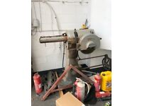 Wadkin Cross Cut saw