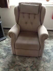 Small Sherbourne electric recliner