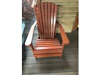 Pre-finished Wooden Garden chairs Clearance