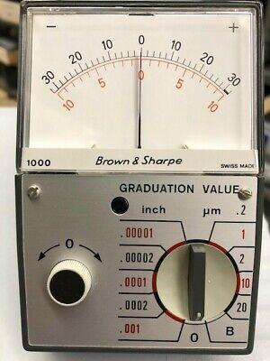 Brown Sharpe 599-1000 Inchmetric Pocket Amplifier Nos