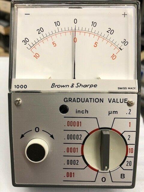 Brown & Sharpe 599-1000 Inch/Metric Pocket Amplifier NOS