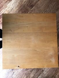 Small Square Wooden Table