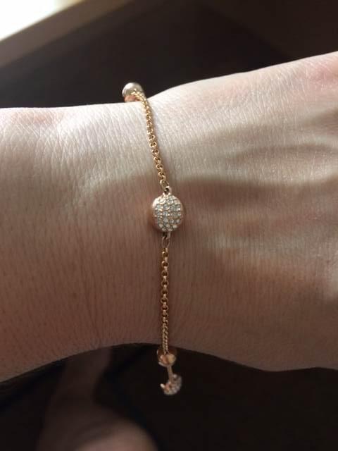 ed0c399c603 Swarovski Gold Strand bracelet - remix collection