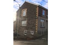 BLOCK OF 3 TWO BED FLATS for SALE near Treharris