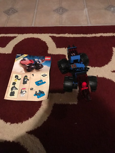 Lego Vintage Space Police Rover 100% Complete w/Manual