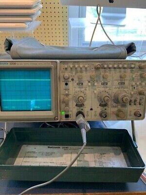 Tektronix 2230 100mhz Digital Storage Oscilloscope Gpib Cald Tested Probes.