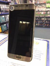 Samsung Galaxy S6 Edge 32GB Gold Platinum --o2