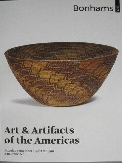 Bonhams 9/9/13 American Indian baskets pottery blanketsKochina dolls jewelry