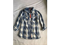 Superdry Shirt Medium New with tags £12