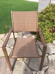 6 Wicker Patio Chairs for Sale - $375 for set