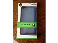 iPhone 6plus cover case: Belkin Grip Candy in transluscent blue