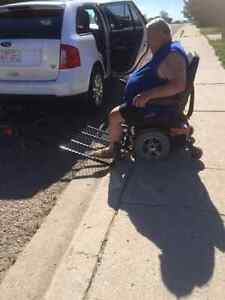wheelchair/scooter carrier