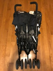 Double Stroller - Maclaren Twin Techno - Super Compact Fold