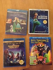 Disney Blu Ray Discs - NEW and SEALED