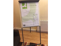 A1 Portable Flip Chart White Board Easel Stand with Telescopic Legs
