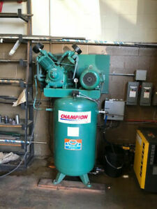 CHAMPION 10 HP COMPRESSOR AND KAESER DRYER FOR SALE!