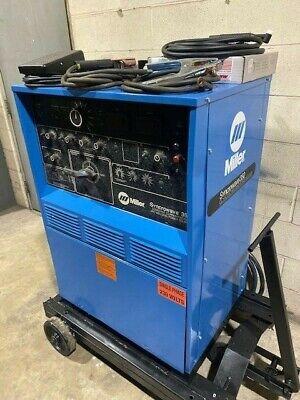 Miller Syncrowave 350 Air-cooled Acdc Tig Welding Welder