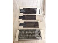 For Sale 4no iWantit Bluetooth Keyboards that you use on Laptop/iPad/iPhone -New in Box- £10each