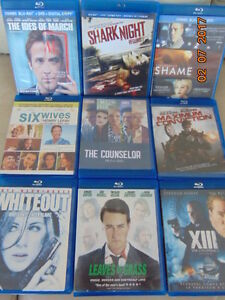 Blu-ray movies - great variety - AWESOME price !!!