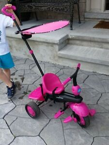 Smartrike Touch Steering 4 in 1 tricycle - Pink