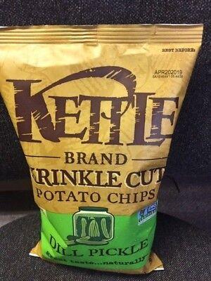 Gluten Free Pickles - KETTLE Brand - Potato Chips DILL PICKLE - 5 oz. Gluten Free - Made in Oregon