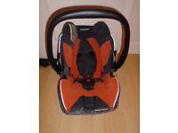 Recaro Young Profi Plus car seat 0-13kg in VGC-post it
