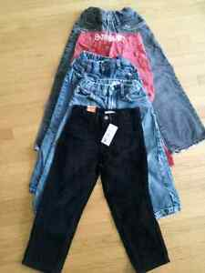 5 Pairs of Boys 4T Pants BNWT Peterborough Peterborough Area image 1