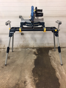 "12"" Single Bevel Compound Mitre Saw w/Stand"