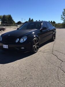 2008 Mercedes Benz E350 4Matic with AMG SPORT PACKAGE