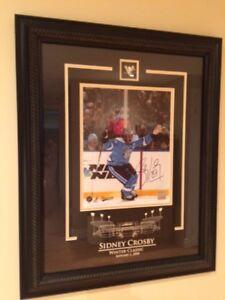 Cadres signés pas Sidney Crosby