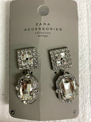 Zara Accessories Collection JEWEL EARRINGS - Brand New