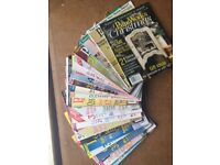 Various craft/painting/sewing magazine back issues