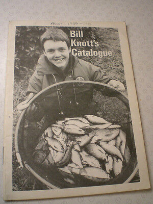A SCARCE BILL KNOT ADVERTISING FISHING CATALOGUE UNDATED BUT CIRCA EARLY 1980'S