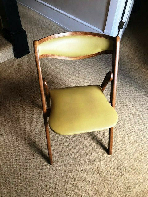 Vintage funeral chapel folding chairs