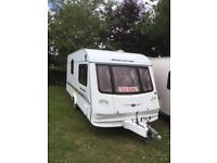 2004 single axle Compass Magnum 482 2 berth touring caravan 1 owner from new
