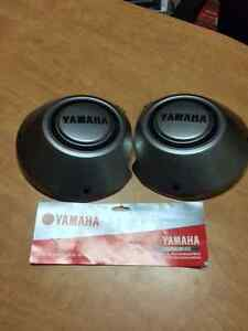 YAMAHA  COVER SIDE PANEL SILVER END BLACK SMA-8EU21-00-BK