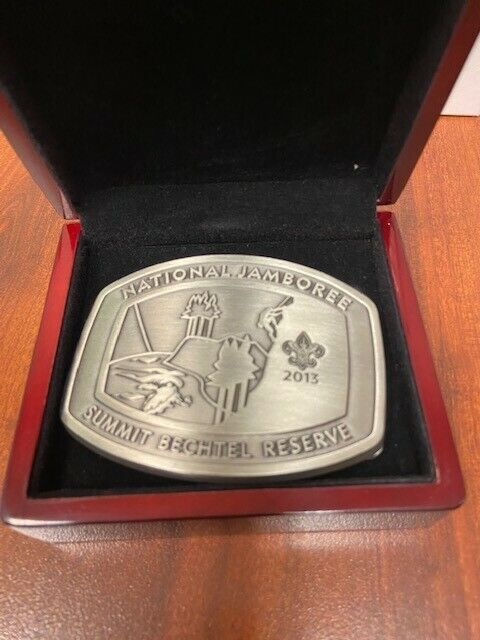 2013 BSA National Jamboree Limited Edition Belt Buckle #2638
