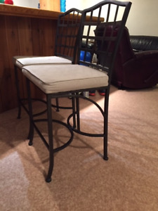 2 Counter Chairs for Sale