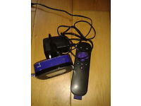 ROKU LT 2400X TV STREAMING BOX IN GREAT CONDITION NETFLIX, AMAZON ETC.