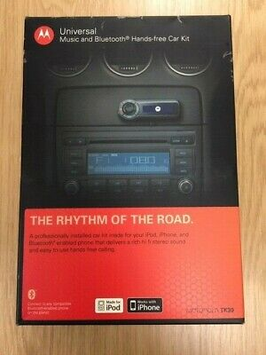 Motorola TK30  - Music & Bluetooth Hands- Free Car Kit - NEW