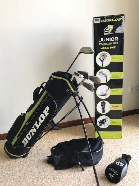 Dunlop Junior Golf Set - Excellent Condition
