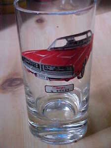 1969 Dodge Charger drinking glass Cornwall Ontario image 2