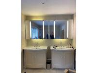 2 Villeroy and Boch Bathroom Cabinets