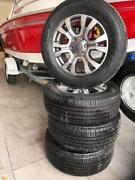 Ford Ranger Alloy Rims and Tyres Glen Osmond Burnside Area Preview