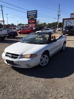1996 Chrysler Sebring LXI Convertible $1100 As Is save save save