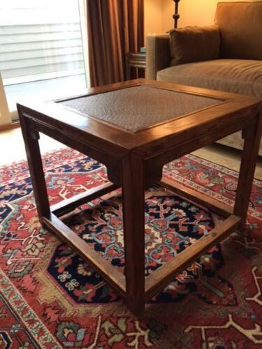Chinese 17th Century Scholar Stool/Side Table