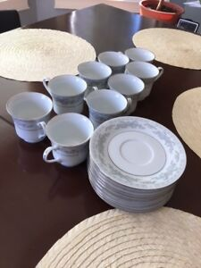 Somerset china - cups and Saucers