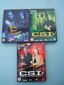 C.S.I. - Crime Scene Investigation USA (Vegas) 3 Box Sets - Season 1 (1-12), 2 (13-23), 3 (1-12)